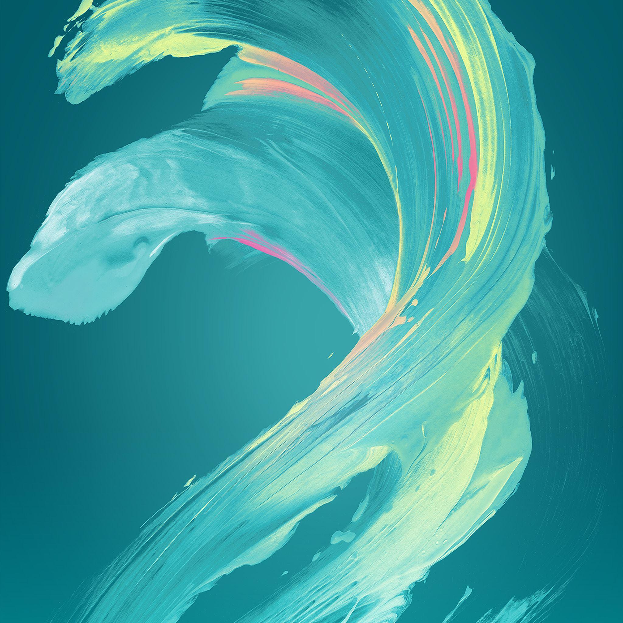 Paint Blue Art Xperia Pattern iPad Air wallpaper