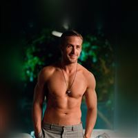 Ryan Gosling Shirtless Topless Sexy iPad Air wallpaper