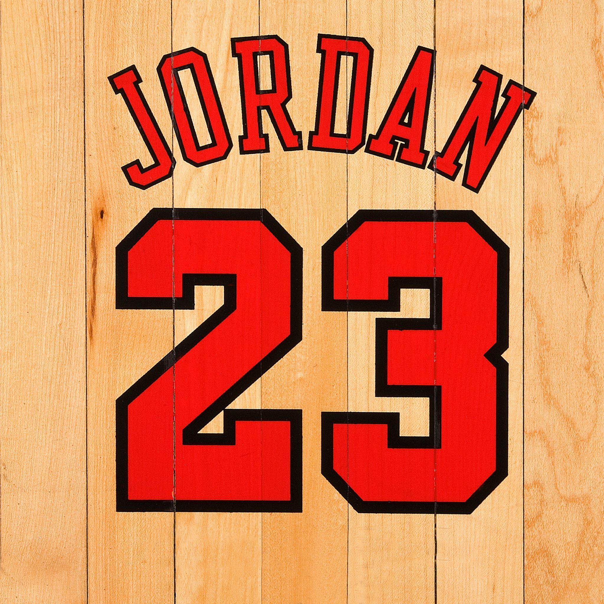 Michael Jordan Chicago Bulls Number Name NBA Basketball Boards iPad Air wallpaper