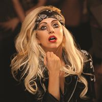 Lady Gaga Mother Monster Singer Makeup iPad Air wallpaper