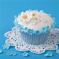 Cupcake Decoration Flowers Cream iPad wallpaper