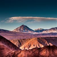 Mountains Sand Sky Layers iPad Air wallpaper