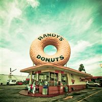 Randys Donuts iPad Air wallpaper