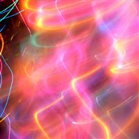 Abstract color trails iPad wallpaper