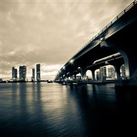 The bridge of the night iPad Air wallpaper