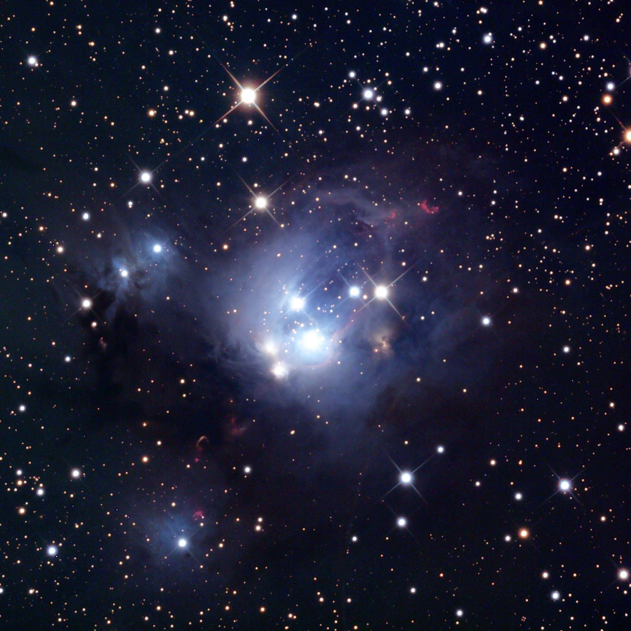 Star cluster stars space iPad Air wallpaper
