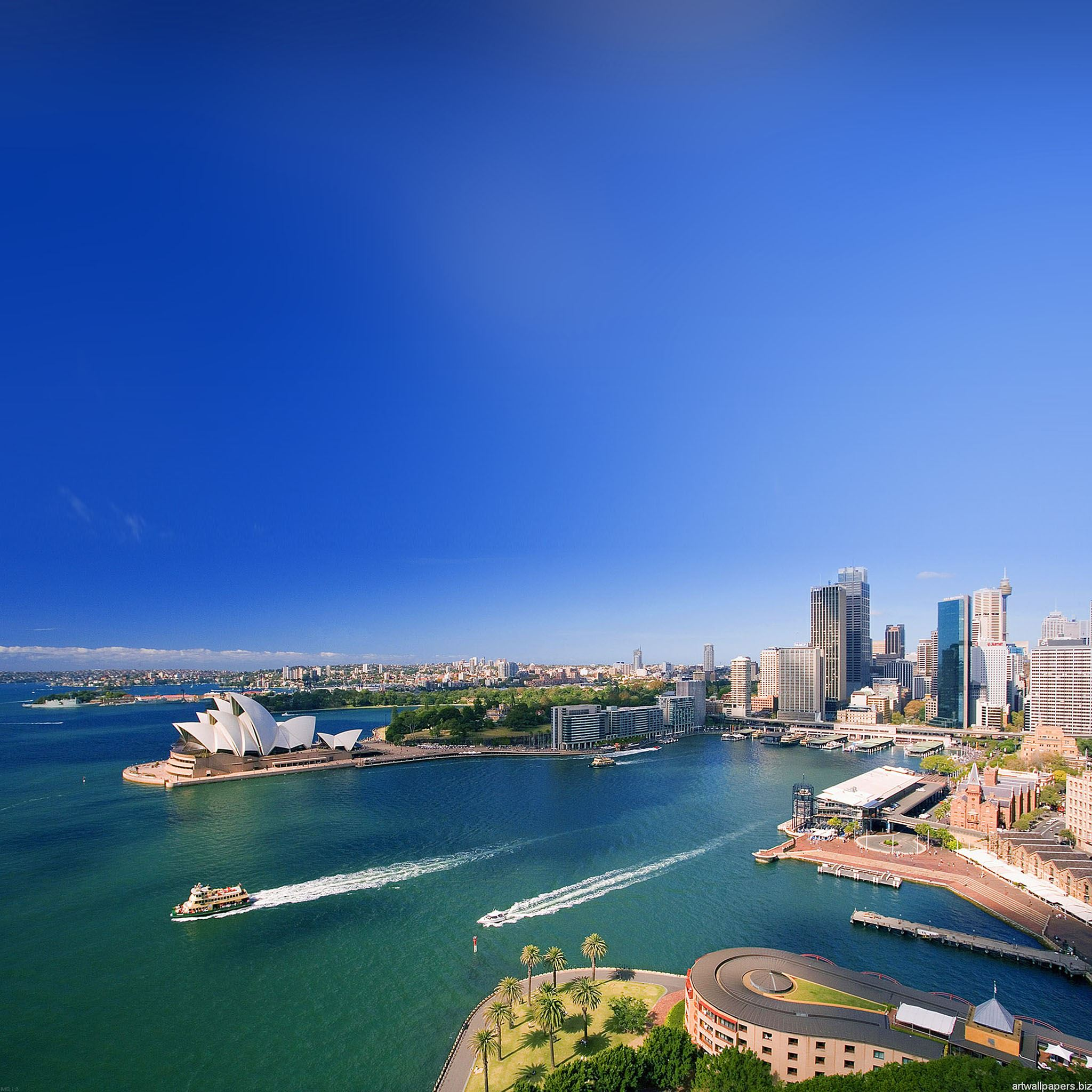 Australia landscape city iPad Air wallpaper