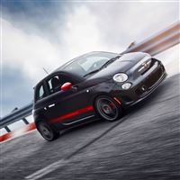 Fiat 500 Abarth iPad Air wallpaper