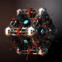 abstract cube Nano iPad Air wallpaper