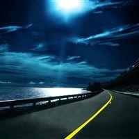Highway Nights iPad Air wallpaper