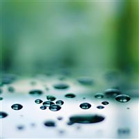 Levitating Droplets iPad Air wallpaper