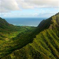 Oahu Valley iPad wallpaper