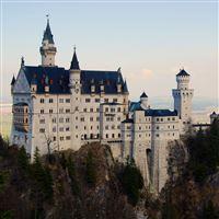 Neuschwanstein Castle iPad wallpaper