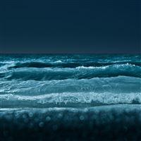 Lake at Night iPad wallpaper