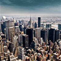 Newyork Sky iPad Air wallpaper