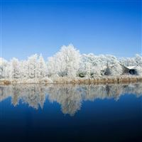 Panoramic Photography Winter iPad Air wallpaper