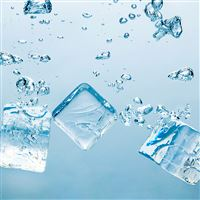 Ice Block iPad wallpaper