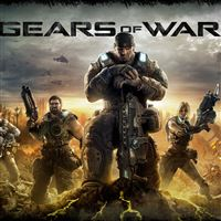 Gears of War 3 iPad wallpaper