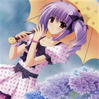 Anime Girl iPad wallpaper