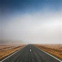 Mist Way iPad Air wallpaper