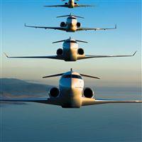 Bombardier Global Express iPad Air wallpaper