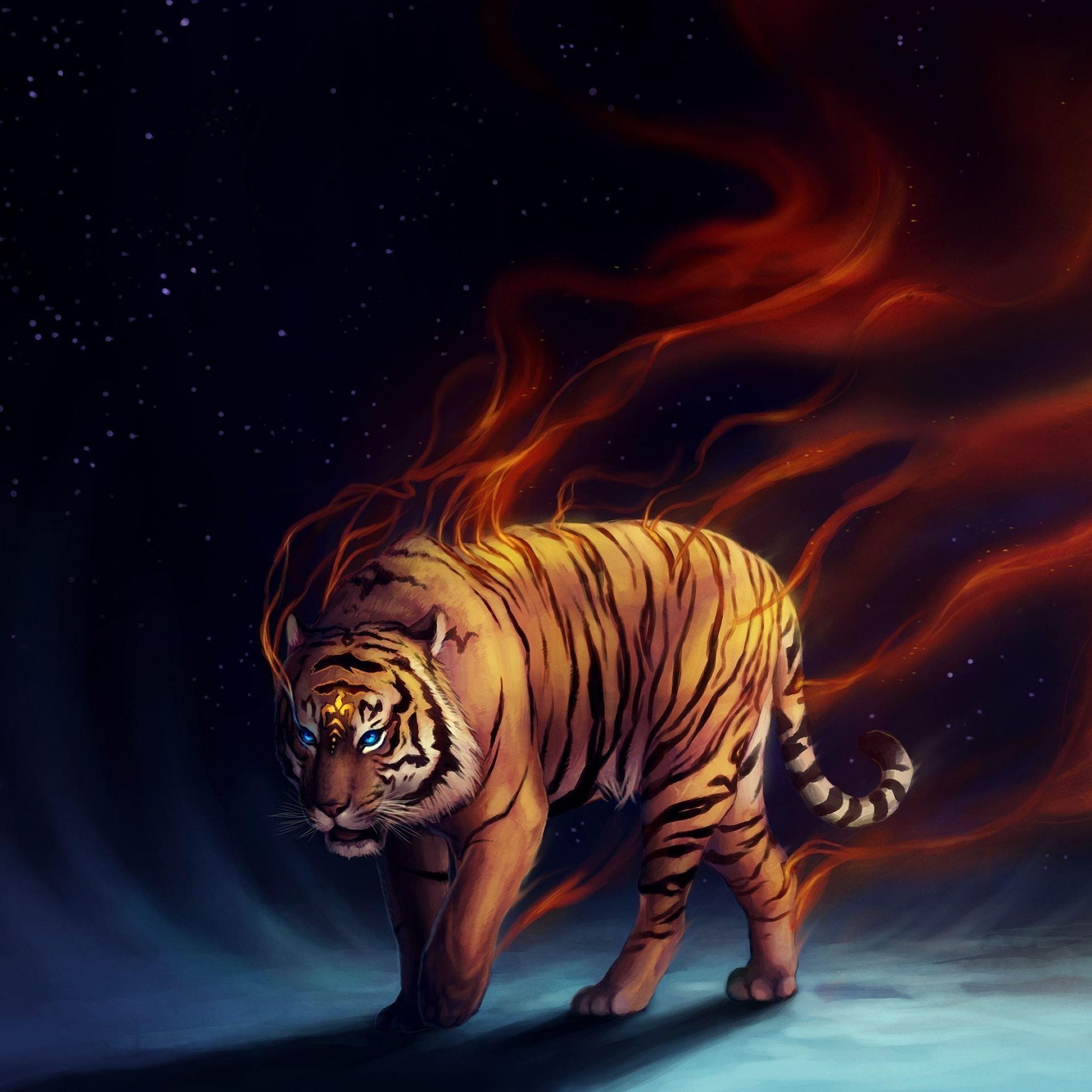 The Tiger iPad Air wallpaper