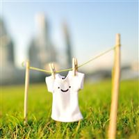 T-shirt Smile iPad Air wallpaper