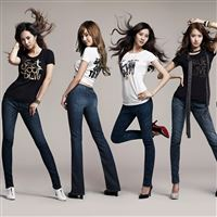 Jeans Girls Generation iPad wallpaper