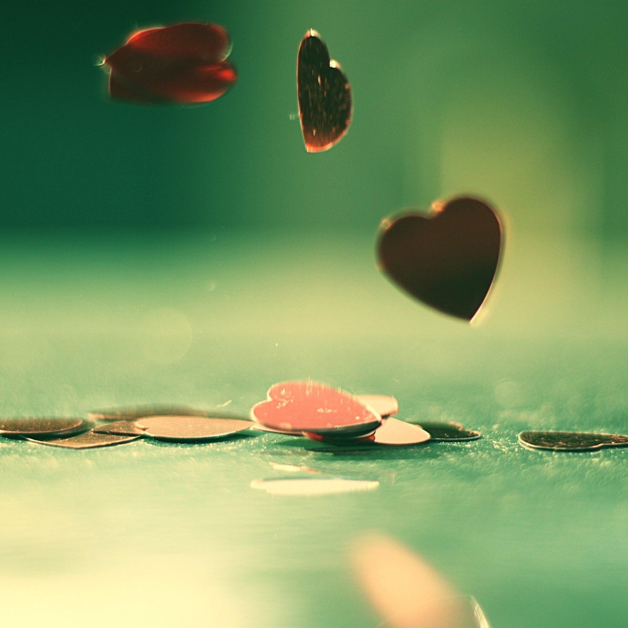 Drop Heart IPad Air Wallpaper