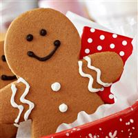 Christmas And New Year Cookies iPad Air wallpaper