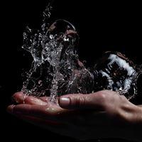 Water Splash 4 iPad Air wallpaper