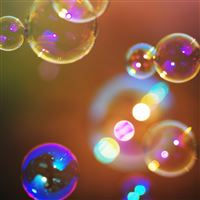 Soap Bubbles 2 iPad Air wallpaper