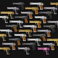 Desert Eagles iPad wallpaper
