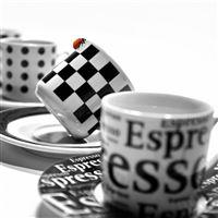Cups Dishes Ladybug iPad wallpaper