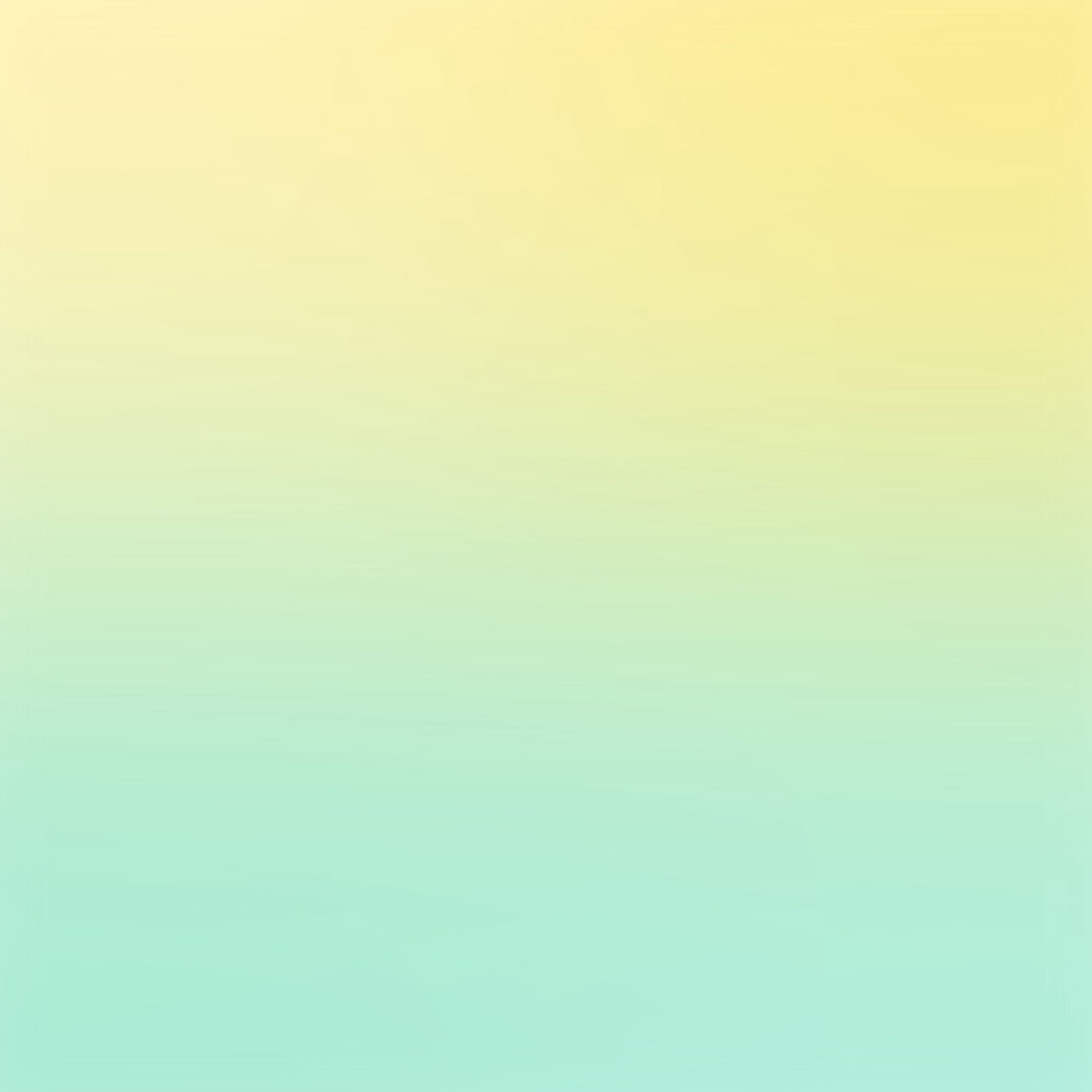 Yellow Green Pastel Blur Gradation IPad Pro Wallpaper