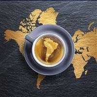 Coffee foam iPad Pro wallpaper