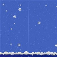 Snowflakes snow winter iPad wallpaper