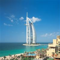 Dubai united arab emirates city  iPad Pro wallpaper