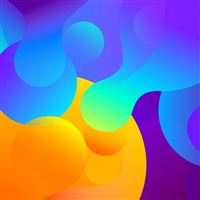 Abstract art color basic background pattern iPad Pro wallpaper