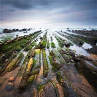 Spain barrika bay of biscay coast iPad wallpaper