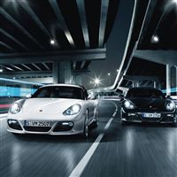 Porsche Cayman Cars iPad wallpaper