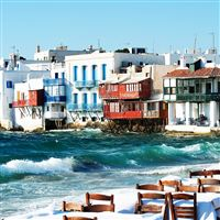 Mykonos holidays iPad wallpaper