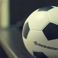 Denton Soccer Ball iPad wallpaper
