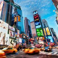 Times Square New York iPad wallpaper
