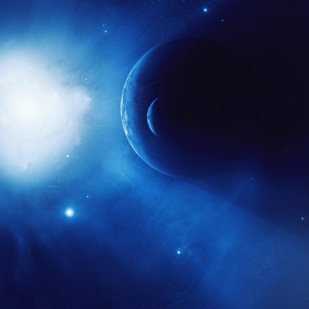 Blue Planet iPad wallpaper