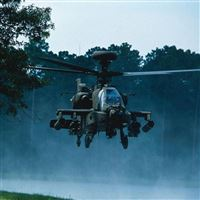 Apache Helicopter iPad wallpaper