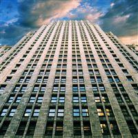Tall Skyscraper iPad wallpaper