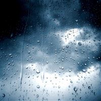 Rain Drop Glass iPad wallpaper