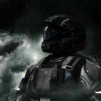 Spartan Soldier iPad wallpaper