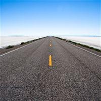 Saltflat Road iPad wallpaper